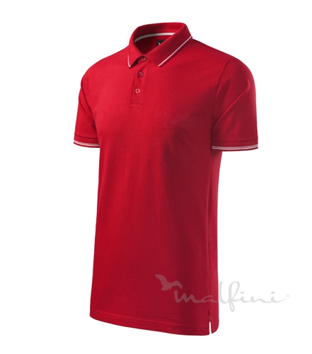 251 Malfini Polokošeľa Perfection plain 71 formula red